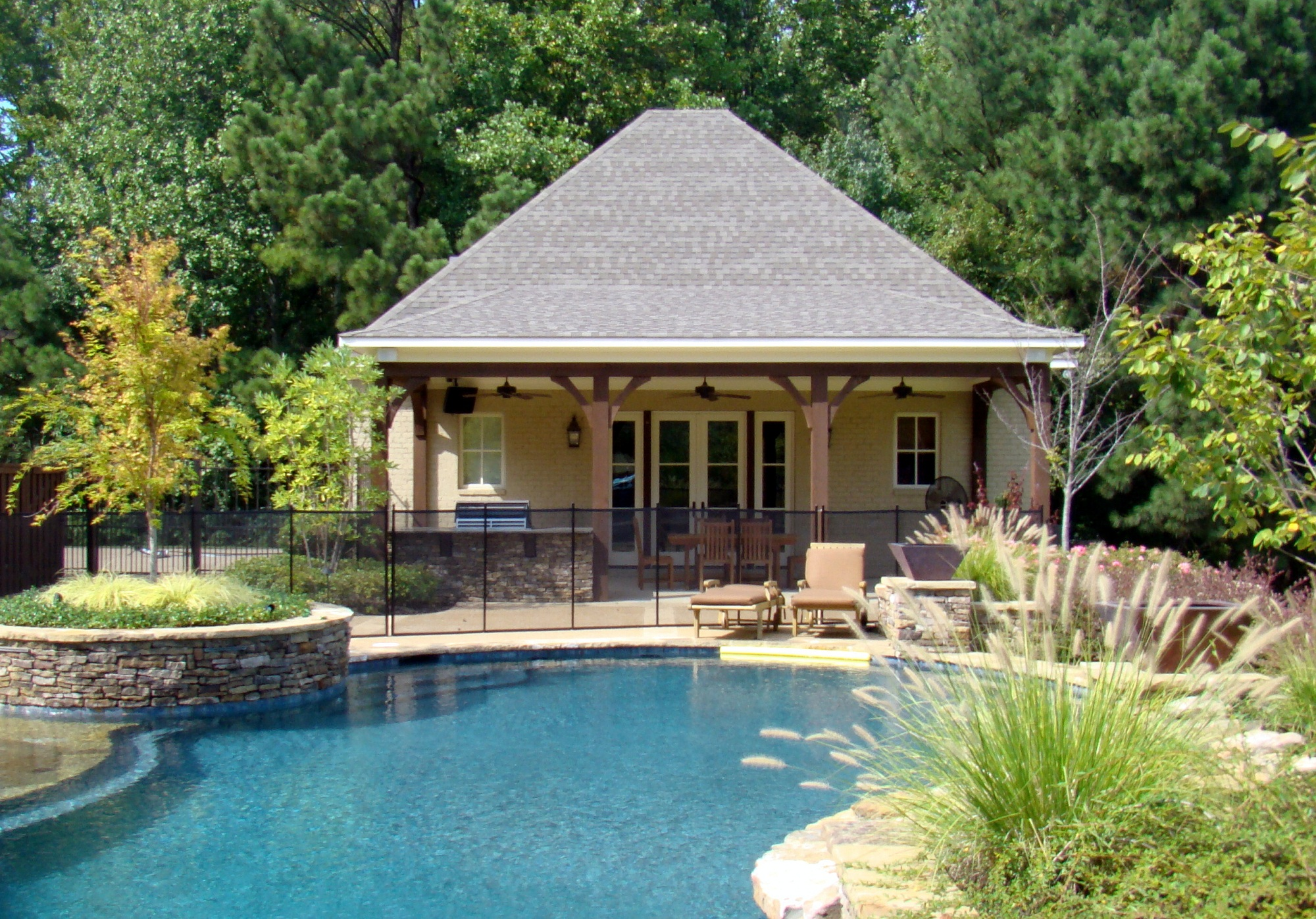 Home additions in shelby county home remodeling for Pool house additions