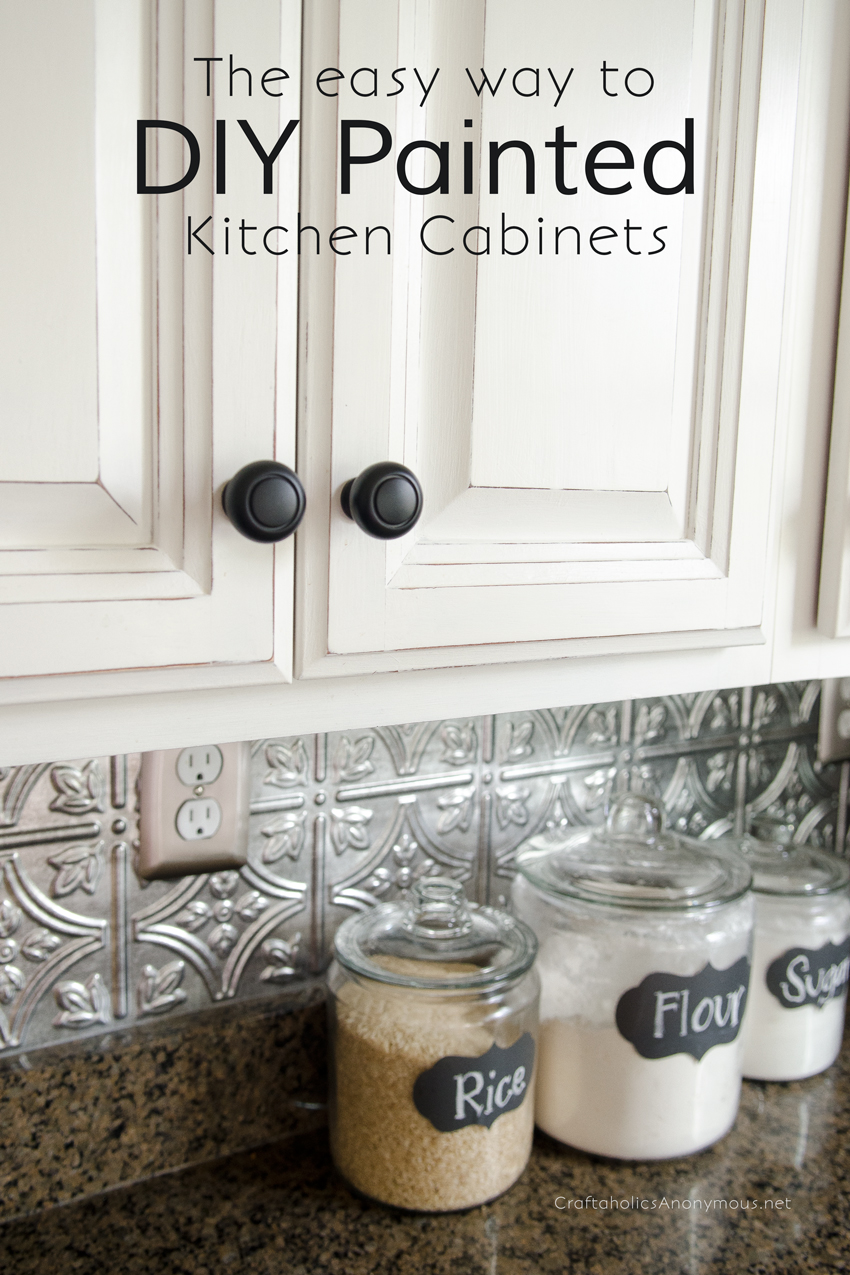 Easy And Affordable Ways To Give Your Kitchen Cabinets A Face Lift