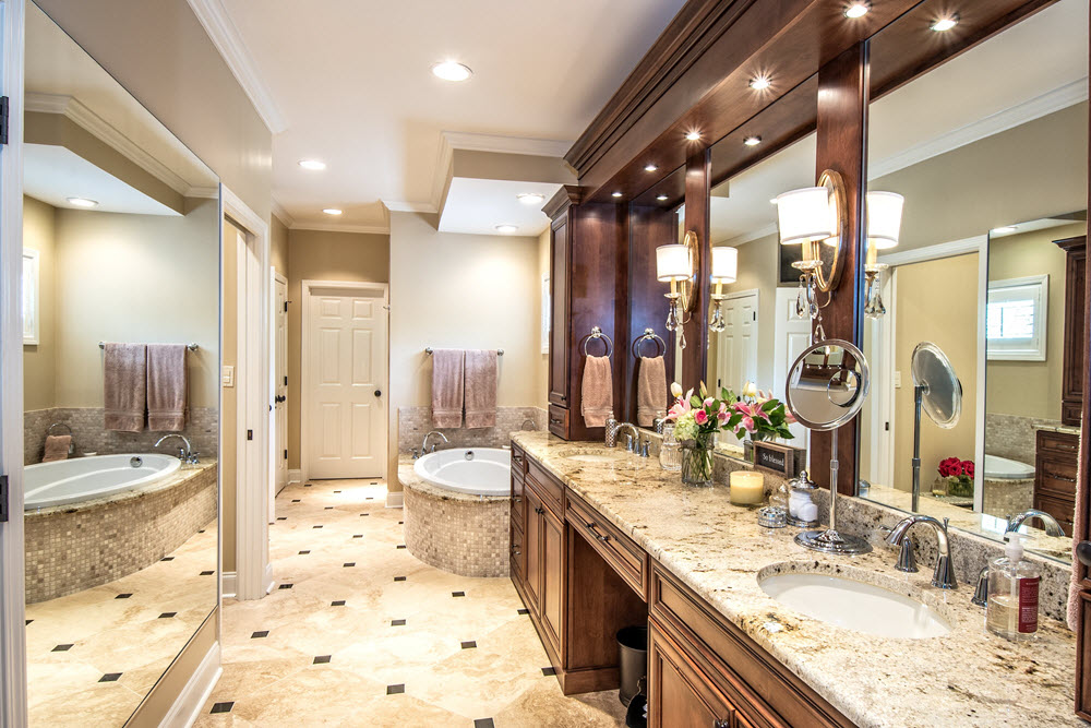 Heritage builders home builder germantown home - Designer baths and kitchens germantown tn ...